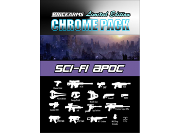Sci-Fi Apoc Chrome Weapons Pack