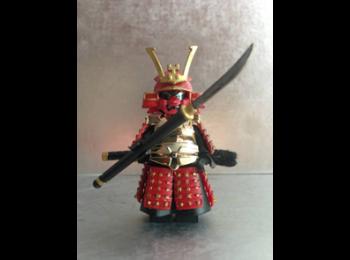 Ancient Samurai Warrior 002