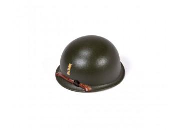 M1 Steel Pot Helmet - 2nd Lieutenant Rank