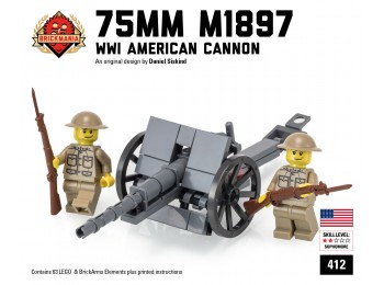 75mm M1897 Field Gun (2016 Edition)