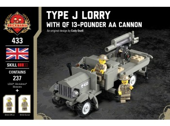 Type J Lorry with QF 13-Pounder AA Cannon