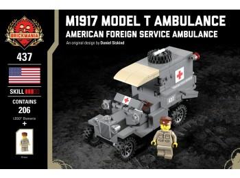 M1917 Model T Ambulance - American Foreign Service Ambulance