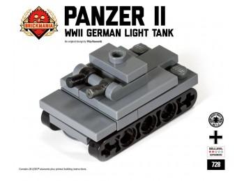 Micro Brick Battle - Panzer II Micro-Tank