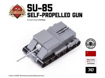 Micro Brick Battle - SU-85 Micro-gun