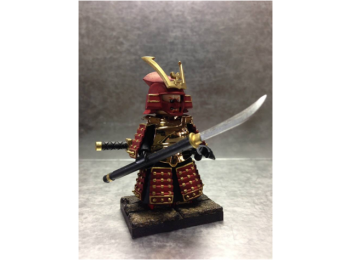 Samurai Warrior Red 001