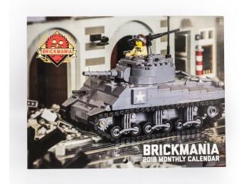 Brickmania 2018 Monthly Calendar