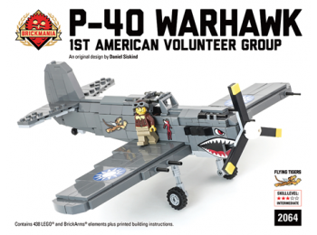 P40 Warhawk - 1st American Volunteer Group (Black Box Premium Kit)