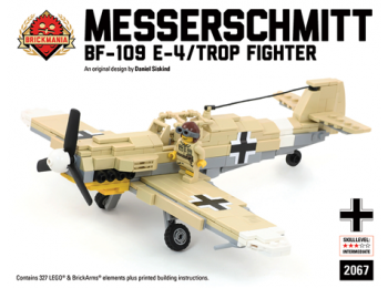 Messerschmitt BF109 E-4 Tropical Fighter