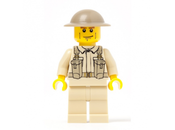 British Army Infantry Soldier with Backpack