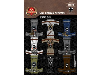 WWII German Officers Sticker Pack