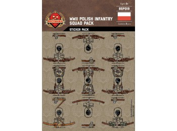 WWII Polish Infantry Squad Sticker Pack