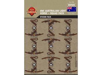 WWI Australian Light Horse Squad Sticker Pack