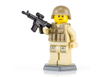 Modern Rifleman - Tan