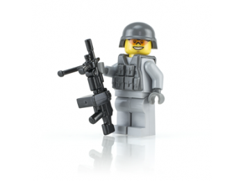 Modern SAW Soldier - Gray