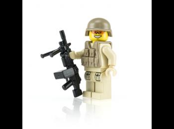 Modern SAW Soldier - Tan