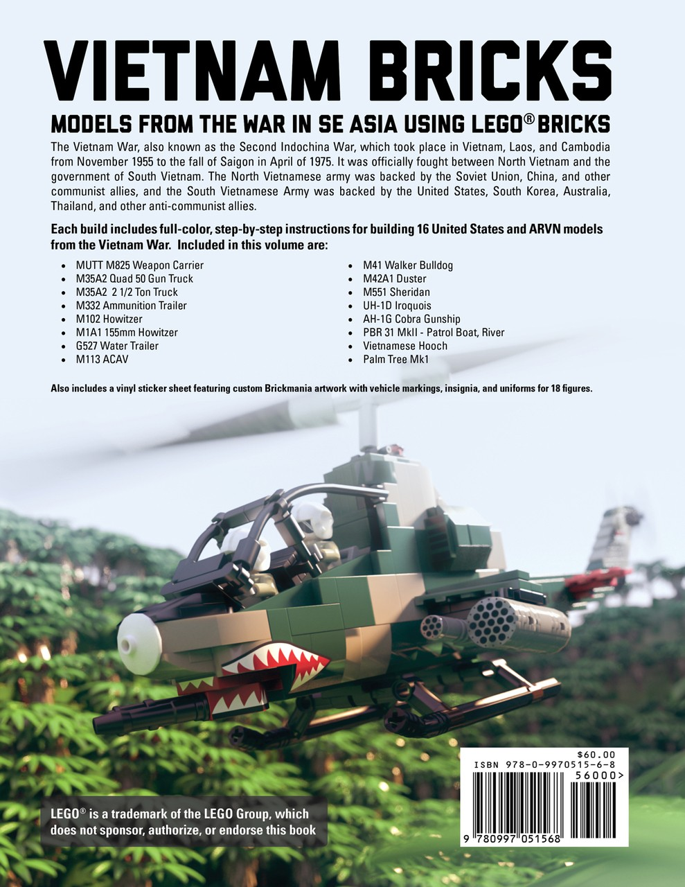 Vietnam Bricks Building Instructions For Models From The
