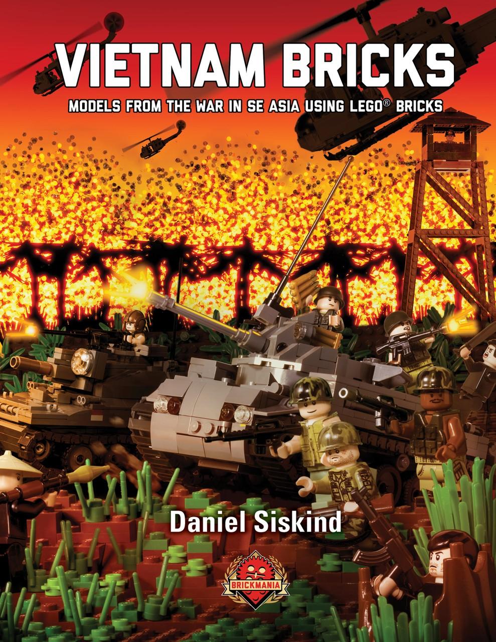 vietnam bricks  building instructions for models from the war in se asia using lego u00ae bricks