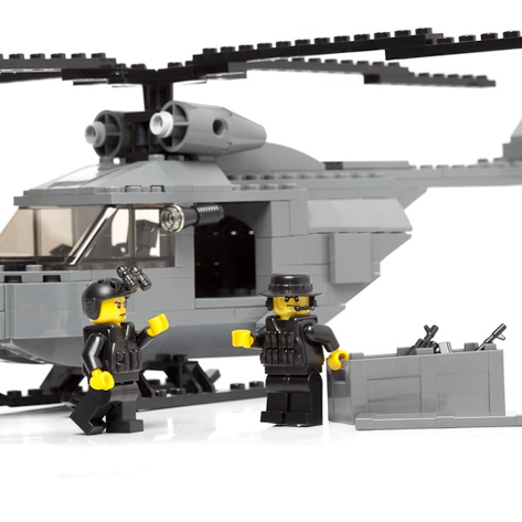 Navy SEALs Helicopter Ministry-Of-Arms - LEGO Custom Made Toys ...