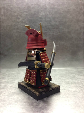 Military Tanks For Sale >> Samurai Warrior Red 001 Ministry-Of-Arms - LEGO Custom ...