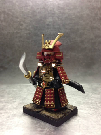 New Military Guns >> Samurai Warrior Red 001 Ministry-Of-Arms - LEGO Custom Made Toys, Minifigures, LEGO Custom made ...