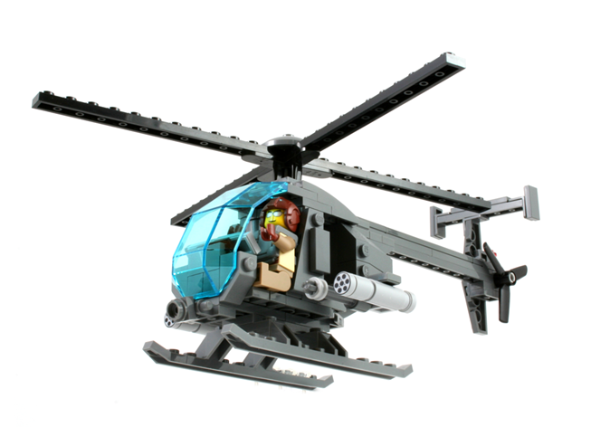 AH-6 Little Bird - US Army Special Operations Attack Helicopter ...