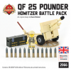 British QF25 Pounder - Howitzer Battle Pack