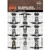 WWII German Winter Infantry Squad Sticker Pack
