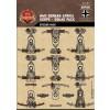 WWII German Afrika Korps Squad Sticker Pack