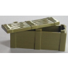Crate With Lid - Olive