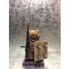 Samurai Warrior with Customize Shield and NagiNata (Pole Sword)