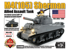 M4(105) Sherman - Allied Assault Tank with Brickstuff Light Effects