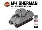 Micro Brick Battle - M4 Sherman Micro-Tank