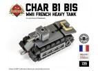 Micro Brick Battle - Char B1 Bis Micro-Tank