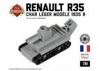 Micro Brick Battle - Renault R35 Micro-Tank