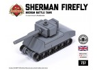 Micro Brick Battle - Sherman Firefly Micro-Tank