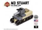 Micro Tank Battle - M3 Stuart Micro-Tank