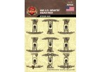 WWII US Infantry Squad Sticker Pack