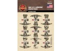 WWII US Airborne Squad Sticker Pack