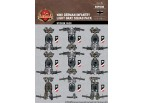 WWII German Infantry Light Gray Squad Sticker Pack