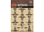 WWII German Afrika Korps Squad Sticker Pack