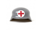 German Medic Helmet - Gray