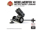 Nebelwerfer - German Multiple Rocket Launcher