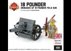 Ordnance QF 18 Pounder Field Gun with British Soldier