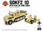 SdKfz10 with PAK 36 and DAK Crew