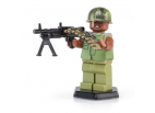 Vietnam Era M60 Gunner with M69 Flak Vest and M60 - Brown