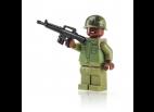 Vietnam Rifleman with M69 Flak Jacket and M16 - Brown