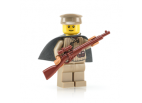 WWII Russian Sniper with Mosin Nagant Rifle and Cape (Megaton)
