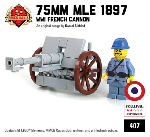 Artillery - Catalogue Ministry-Of-Arms - LEGO Custom Made