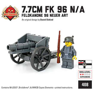Artillery - Catalogue Ministry-Of-Arms - LEGO Custom Made Toys