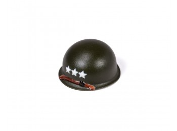 M1 Steel Pot Helmet - Lieutenant General Rank